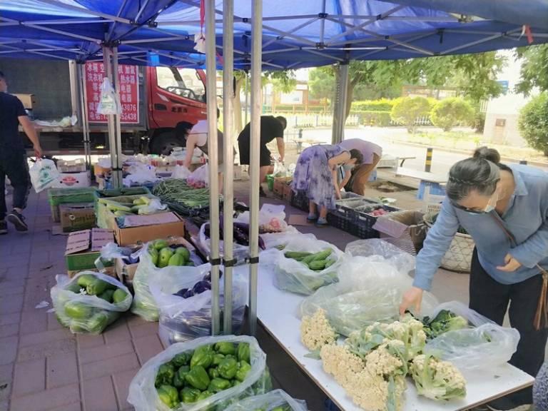 晨拍社区里的蔬菜直通车14.jpg